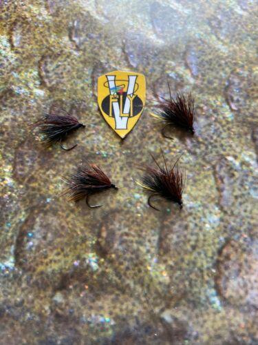 V Fly Size 12 Signature Collection Highland Hopper Hog Sedgehog Trout Flies