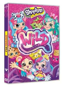 Shopkins-Wild-Style-Includes-Sticker-Sheet-DVD-2017-NEW-SEALED-FREE-P-amp-P