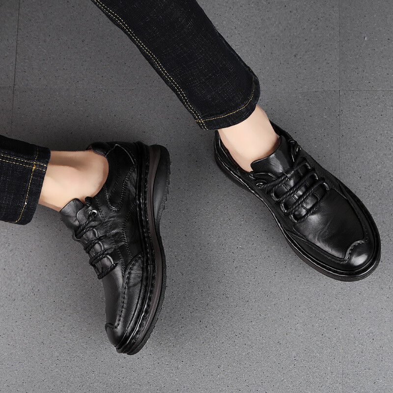 vendita scontata online di factory outlet Fashion Fashion Fashion Uomo Faux Leather Formal Business Lace Up Thicken Warm Dress scarpe New  spedizione gratuita!