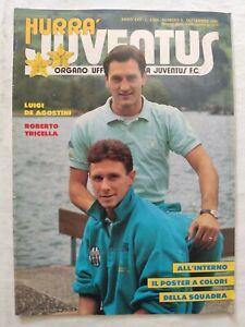 HURRA-039-JUVENTUS-N-9-SETTEMBRE-1987-POSTER-DELLA-SQUADRA-TRICELLA-DE-AGOSTINI