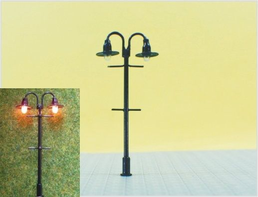S311 - 10 Pcs Lamps Streetlights Nostalgic 2 Flame 2 2 2 3 16in Park Lights Set 526509