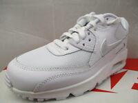 Nike Air Max 90 Mesh Girls Trainers Brand Size Uk 4.5 -ex Display (cu1)