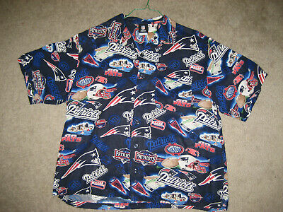 NEW England Patriots Hawaii Hemd Classic Stolz & Tradition Gr: Large | eBay