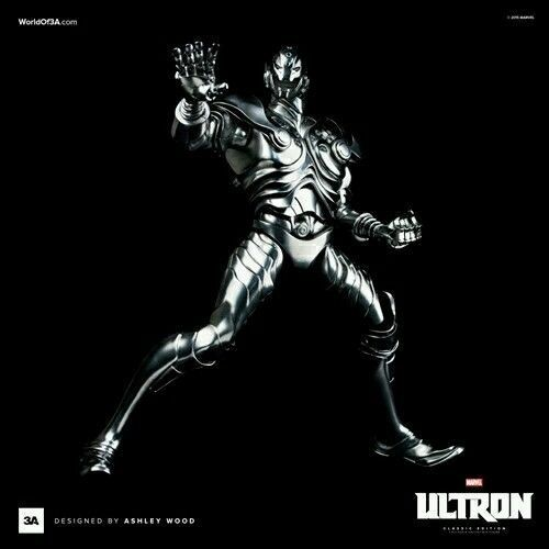 ThreeA - ULTRON - Classic Edition 1 6 Scale Collectible Figure by Ashley Wood