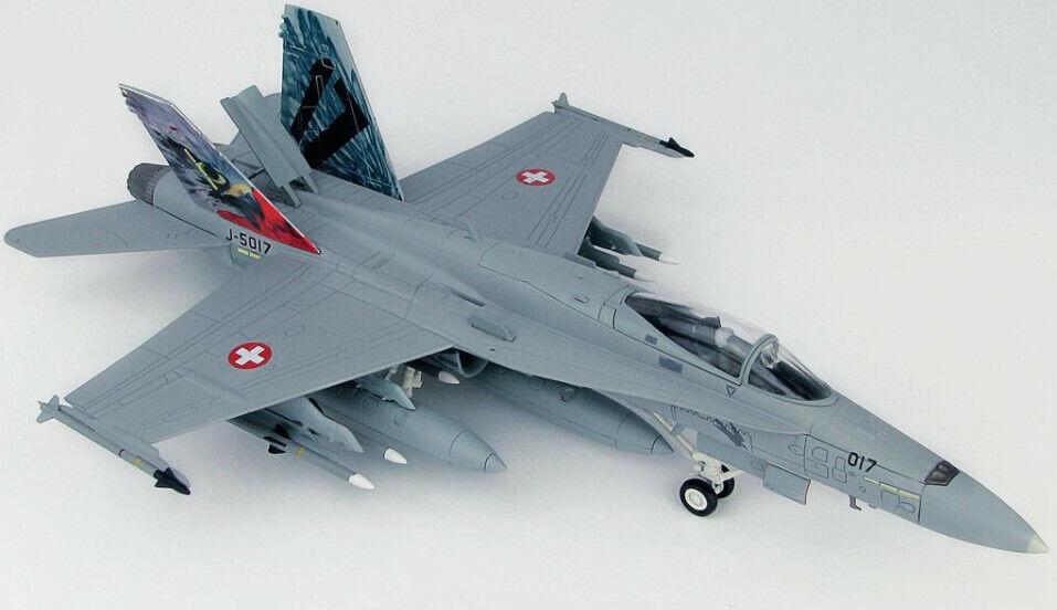 F A-18C Hornet Swiss Air, Force Staffel 17, J-5017, 1 72 Hobby Master