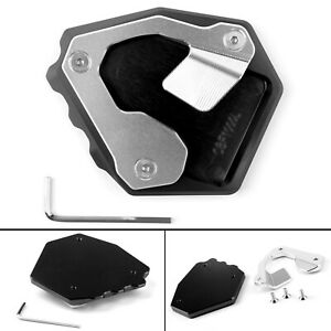 CNC Side Stand Extension Plate Pad Fit For Honda Africa Twin CRF1000L 2016-2017