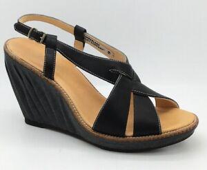 juicio Estragos escanear  Timberland Women's Boot Company Marge Black Sandals / Wedges UK 5 - 16663 *    eBay