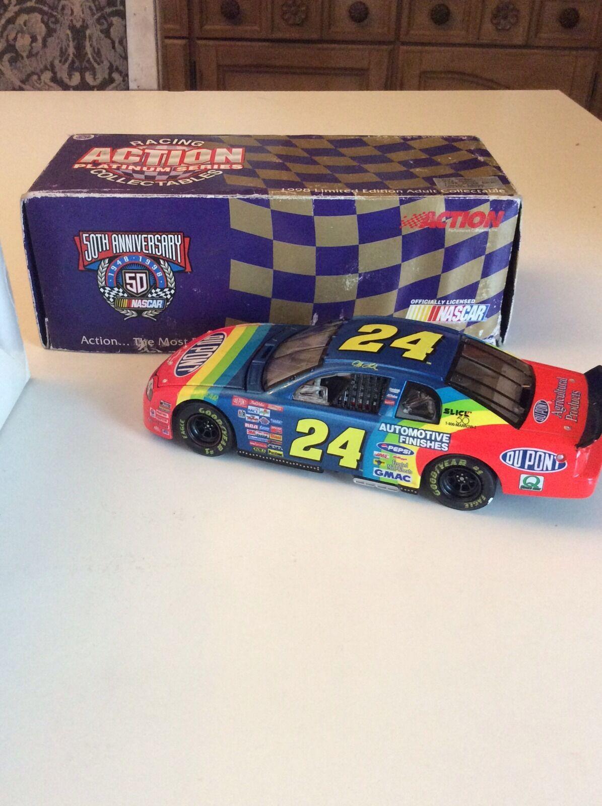 Action NASCAR 1 24 Car Jeff Jeff Jeff Gordon  Dupont 1998 Chevy Monte Carlo b8f335
