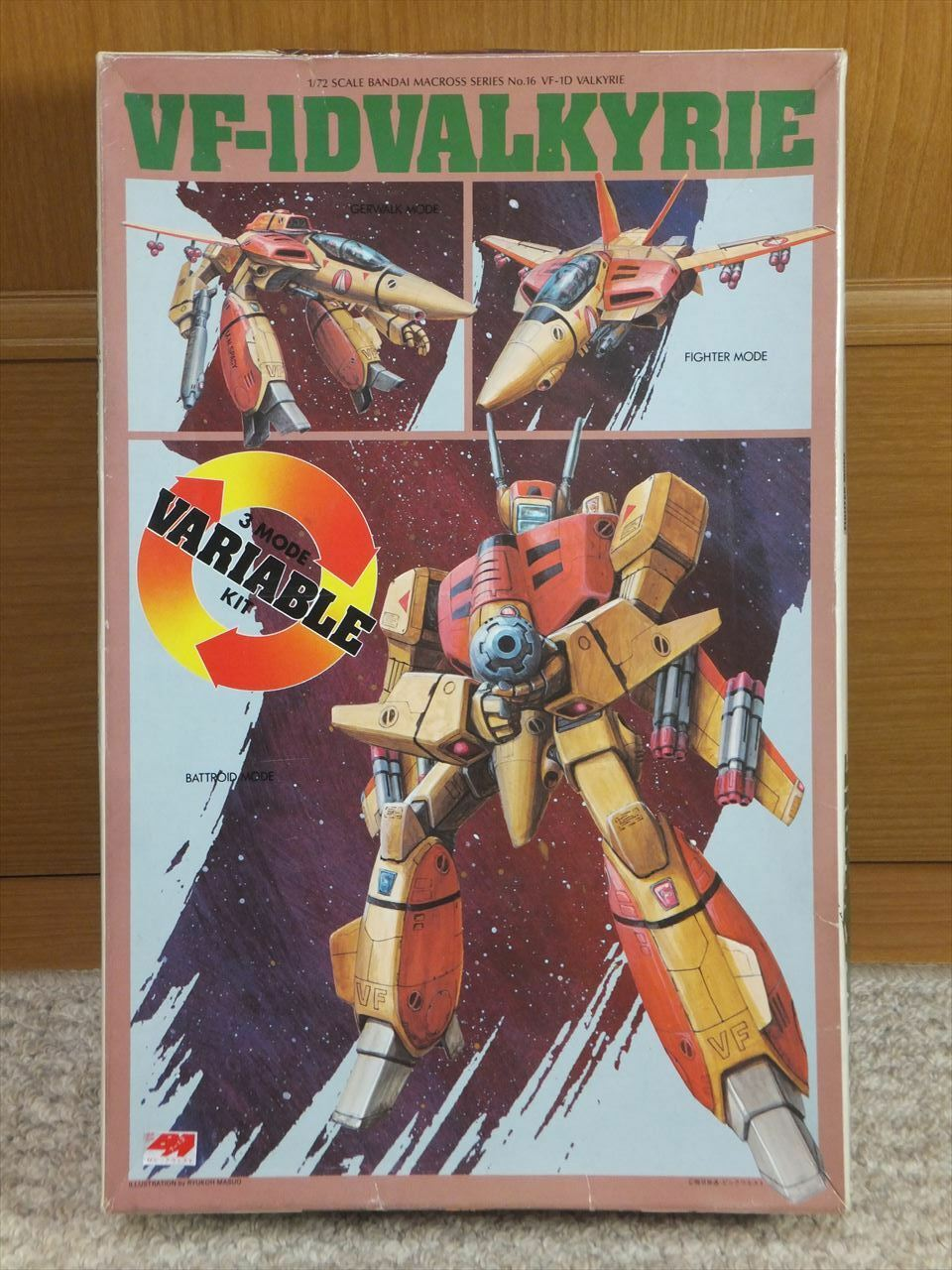 MACROSS 1 72 VF-1D VALKYRIE 3 MODE VARIABLE  TYPE modellololo Kit robotech Beai  liquidazione