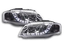 Scheinwerfer Daylight LED TFL-Optik Audi A3 8P/8PA Bj. 03-07 chrom Scheinwerfer