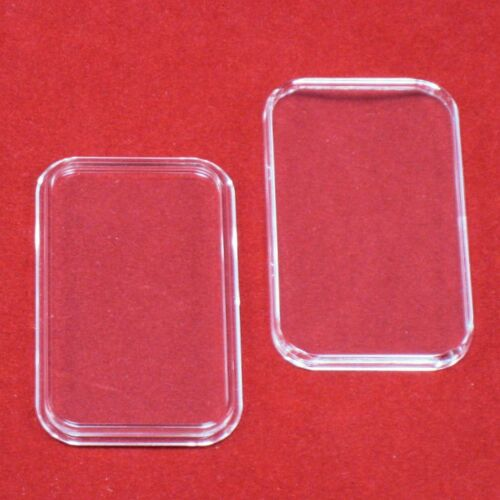 15 Air-Tite 1 oz Silver Bar Direct Fit Bar Holder Capsules