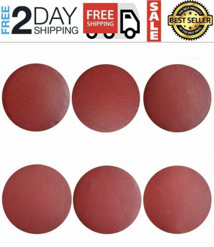 30 PACK 8 Inch PSA Sanding Discs Adhesive Backing Sandpaper 80//120//240 Grit Disc