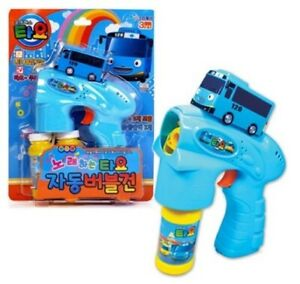 Tayo-The-Little-Bus-TV-Character-Toys-Auto-Bubble-Gun-Children-Hobbies-NK