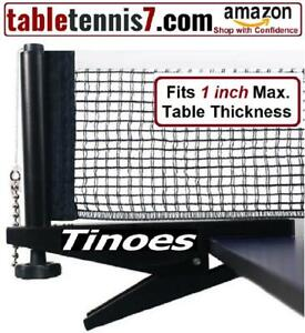 +  SALE!  Tinoes Professional Ping Pong Net & Post set - Height & Tension adjustment + Ontario Preview