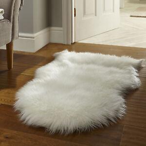 Sheepskin Rug Thick Faux Fur Mats