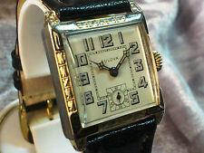 Bulova 'Franklin' vintage manual wind watch 1929 10AN Art deco Super Rare