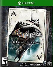 Batman: Return to Arkham (Microsoft Xbox One, 2016) BRAND NEW!!!