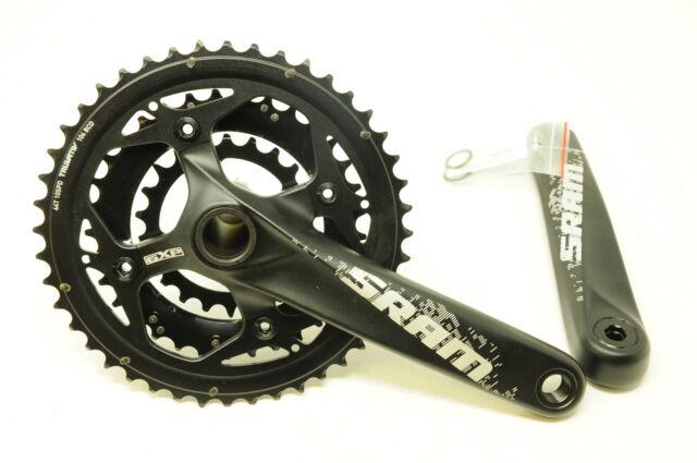 Sram Truvativ X0 Mountain Bike Carbon Crankset 44-33-22 3x10 Speed 175mm
