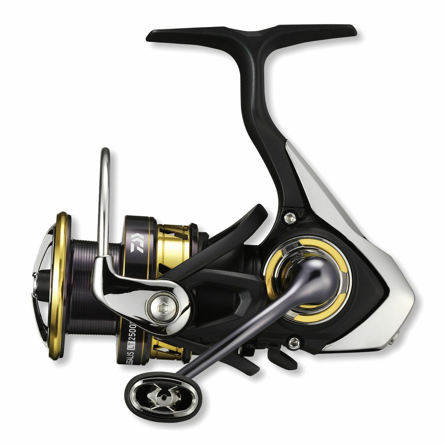 Daiwa Legalis LT D Spinnrolle Stationärrolle 1000-6000 Angelrolle Frontbremse
