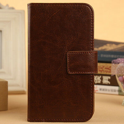 Accessory PU Leather Case Cover Skin Protective For Samsung Smartphone