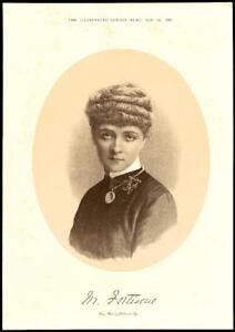 1884-Antique-Print-Portraits-Madam-Fortiscue-243