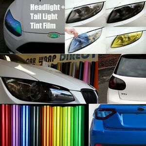Headlight-Tail-light-Tinting-Vinyl-Film-Smoked-JDM-Yellow-Chameleon-More
