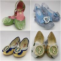 Disney Store Tinkerbell Fairy Cinderella Snow White Tiana Dress Costume Shoes
