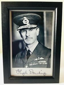 RAF-FIGHTER-COMMAND-HUGH-DOWDING-BATTLE-OF-BRITAIN-PHOTOGRAPH-PRINT-amp-SIGNATURE