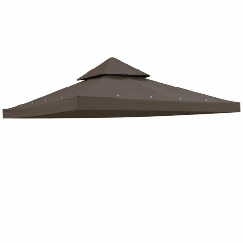 10/'x10/' Gazebo Canopy Top Replacement 1//2 Tier Patio Outdoor Sunshade Cover UV30