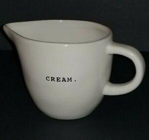 Rae-Dunn-Artisan-Collection-By-Magenta-034-Cream-034-Creamer-NWT-Easter