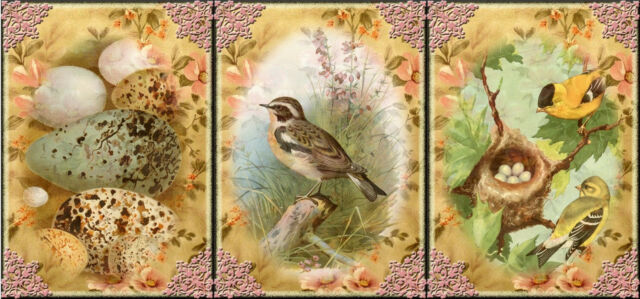 "9 ""BIRDS"" HANG / GIFT TAGS FOR SCRAPBOOK PAGES (01)"