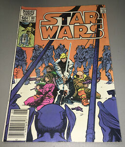 Star Wars #60 Marvel 1st App Appearance Rogue Squadron 1977 Newsstand