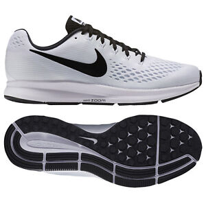 huge discount bc024 20639 Details about Nike Air Zoom Pegasus 34 TB 887009-100 White/Black Men's  Running Shoes