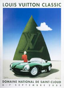 Original-Louis-Vuitton-Classic-Poster-RAID-Domaine-St-Cloud-JAGUAR-2003