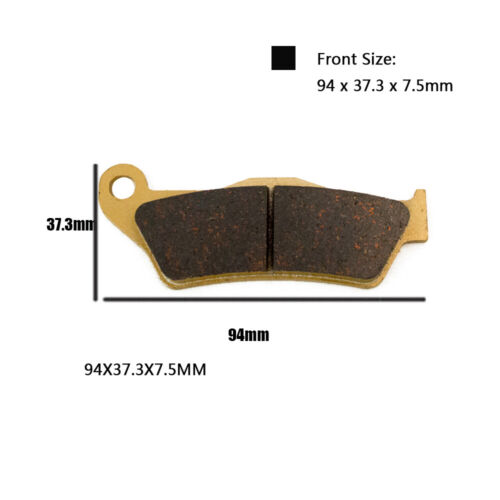 Motorcycle Front and Rear Brake Pads for KTM SX SX-F EXC 125 200 250 400 525 530