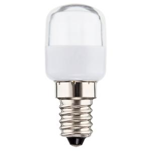 I-Glow LED Kühlschranklampe 2,5W = 19W E14 klar Röhre T25 160° warmweiß 2700K