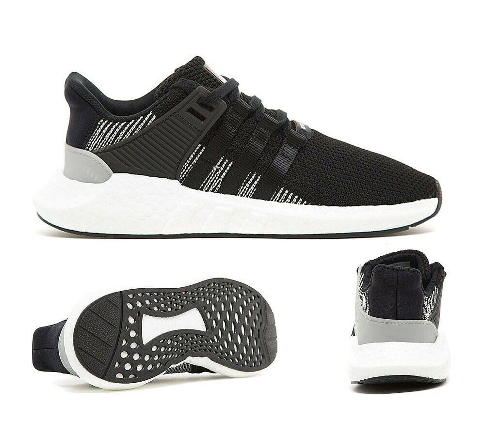 Adidas EQT pour homme Support 93 17 Noir Blanc paniers (PF1)