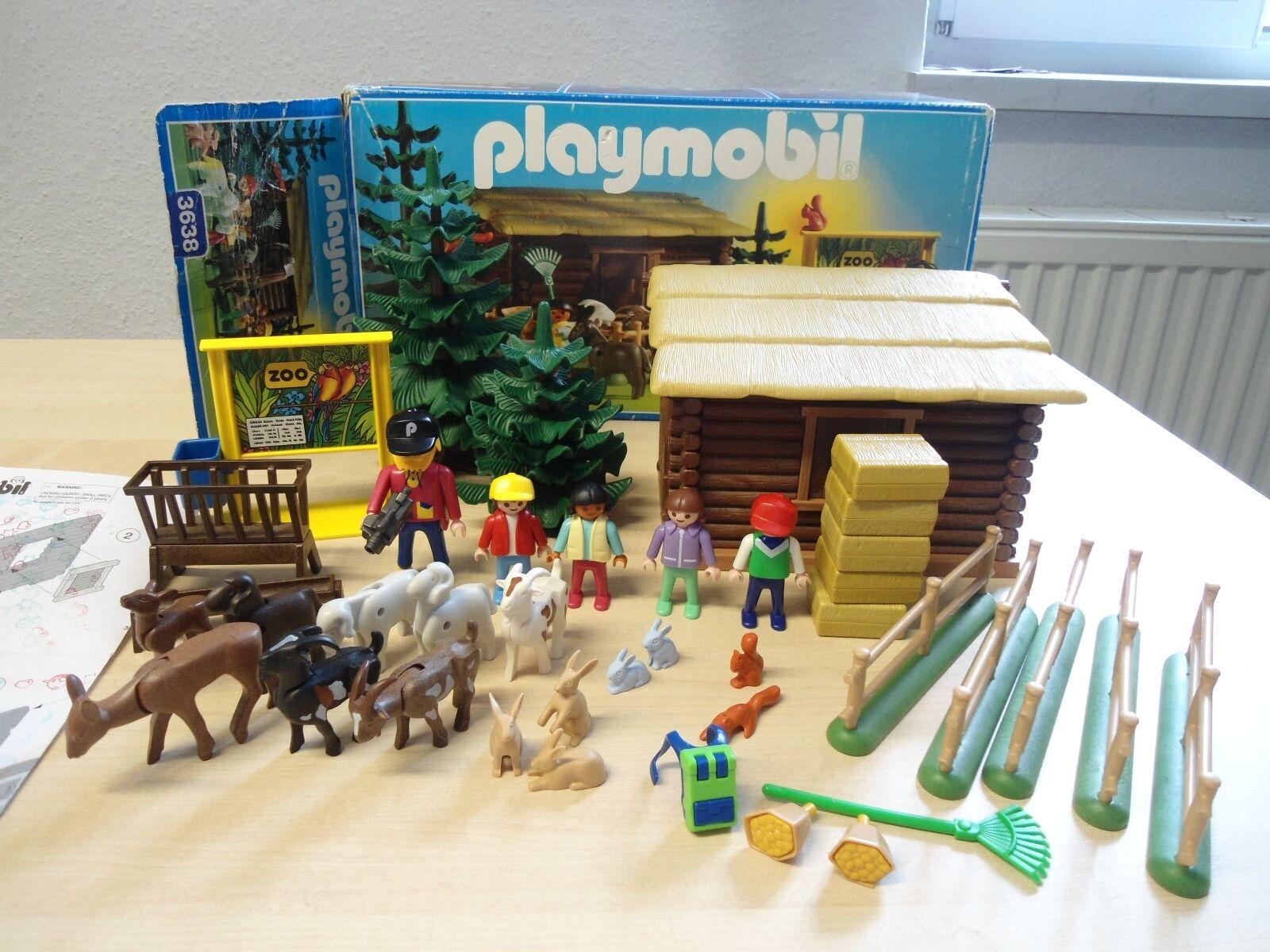 Playmobil Set  3638   Streichelzoo   gebraucht