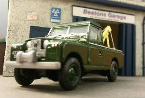 1-76-echelle-00-Modele-Land-Rover-2a-109-LWB-Recuperation-De-Ventilation-Harvey