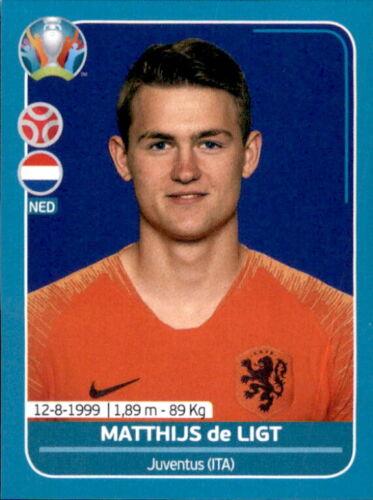 EM 2020 Preview Niederlande Sticker NED12 Matthijs de Ligt