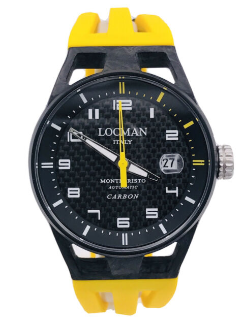 Orologio Locman MonteCristo Carbon LimitedEdition 544YY/1390 Scontatissimo Nuovo