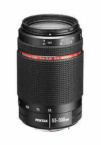 Pentax HD DA 55-300 mm ED WR Objektiv  für Pentax Digital Neuware