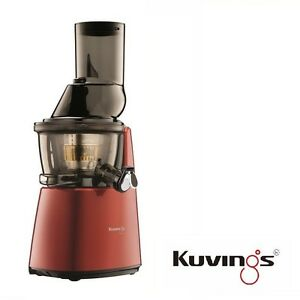 Kuvings-Whole-Slow-Juicer-C9500R-Juice-Extractor-Red-Incl-Rezeptbuch