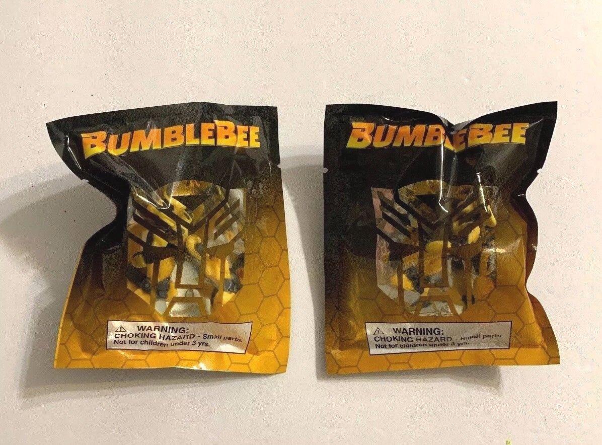 AMC Transformers Bumblebee Opening Weekend Hasbro Exclusive Mini Figurine Pair