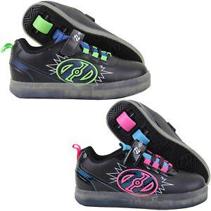 Details zu Heelys Pow X2 Lighted Kinder Rollschuhe Heelies Rollenschuhe Sneaker mit Rollen
