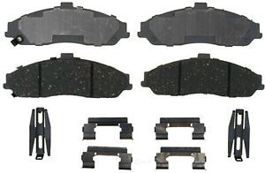 Disc Brake Pad Set-Ceramic Disc Brake Pad Front ACDelco Advantage 14D731CH