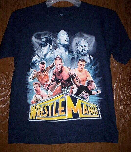 WWE The ROCK Shirt NeW Wrestling Gray Shirt Boy/'s 14//16 I BRING IT T-Shirt NWT