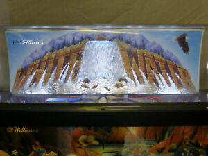 White Water Pinball - Topper Waterfall Effect - LED Mod With or Without LEDs
