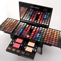 Miss Rose 180 Colors Matte Eyeshadow Makeup Powder Blush Brow Powder Eyeliner