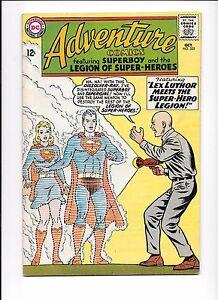 Adventure-Comics-325-October-1964-Lex-Luthor-Superboy-Supergirl